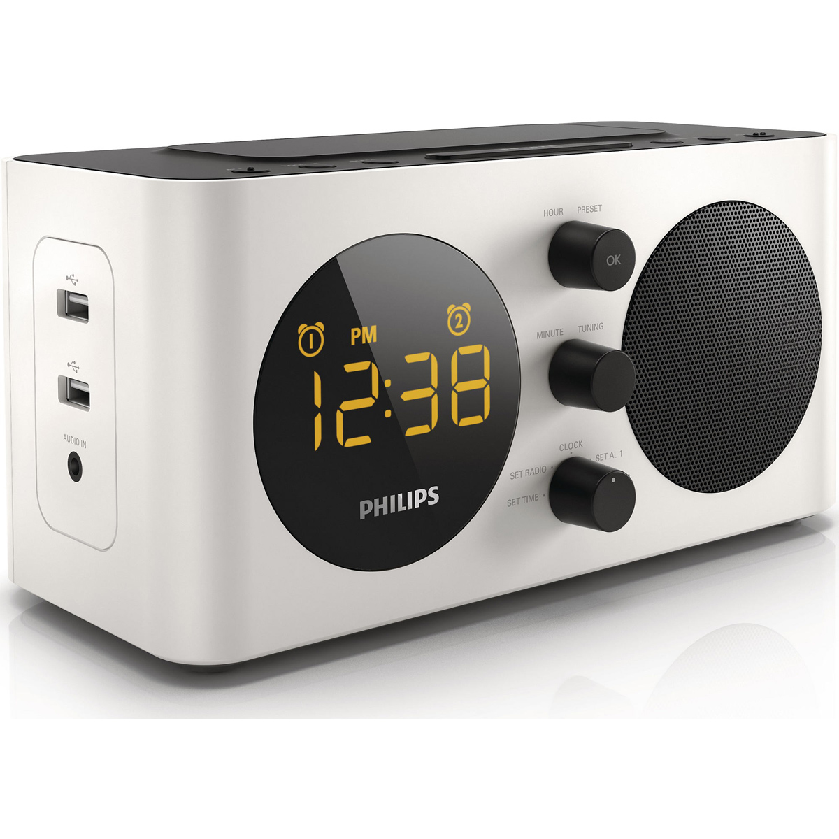 philips aj6000 radio radio r veil philips sur. Black Bedroom Furniture Sets. Home Design Ideas