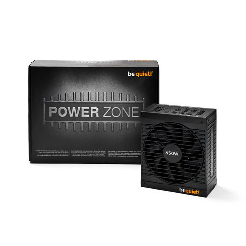 Alimentation PC be quiet! Power Zone 650W 80PLUS Bronze Alimentation modulaire 650W ATX 12V 2.4 / EPS 12V 2.92 (Garantie 5 ans constructeur) - 80PLUS Bronze