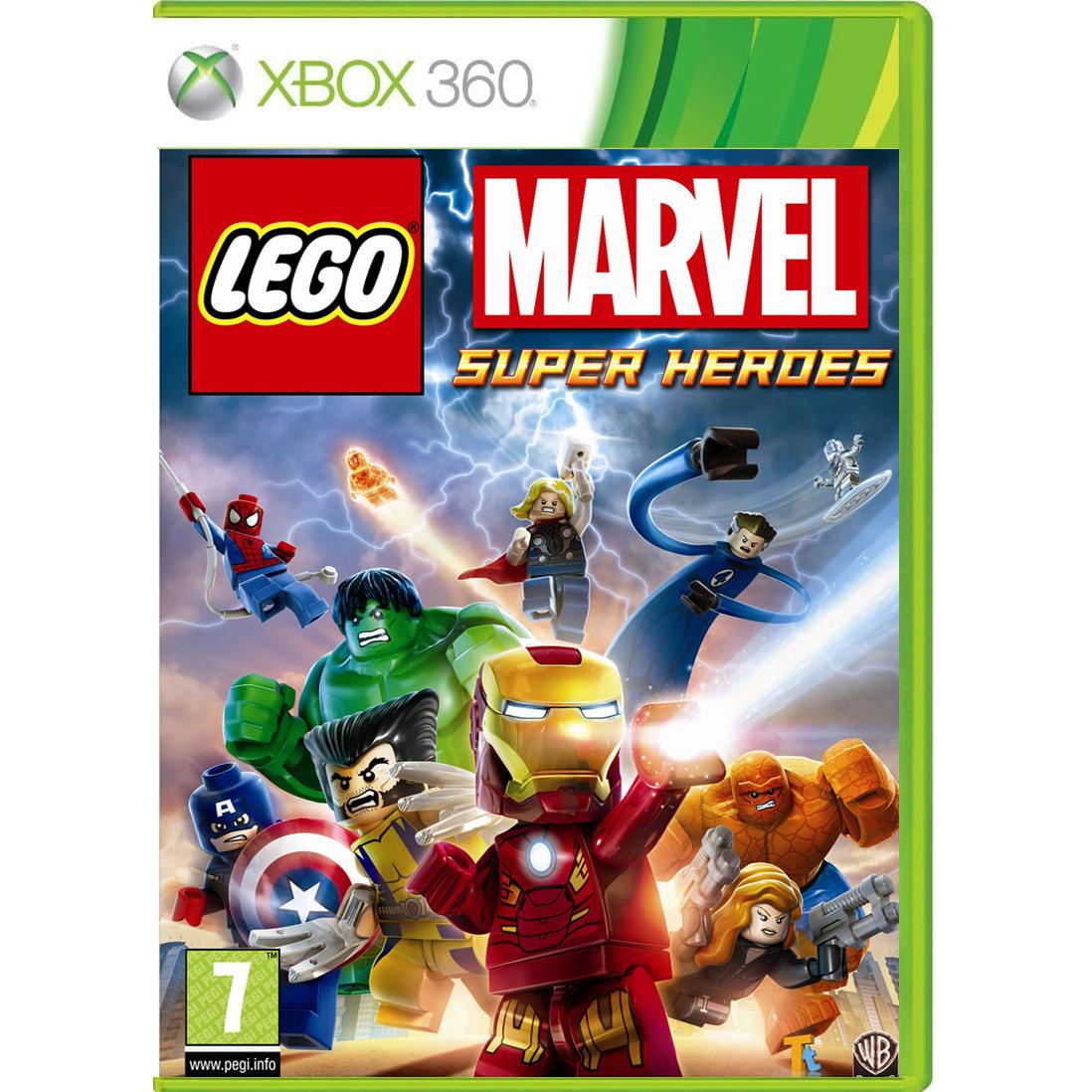 lego marvel super heroes xbox 360 jeux xbox 360 warner. Black Bedroom Furniture Sets. Home Design Ideas