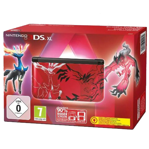 nintendo 3ds xl pokemon rouge console nintendo 3ds. Black Bedroom Furniture Sets. Home Design Ideas