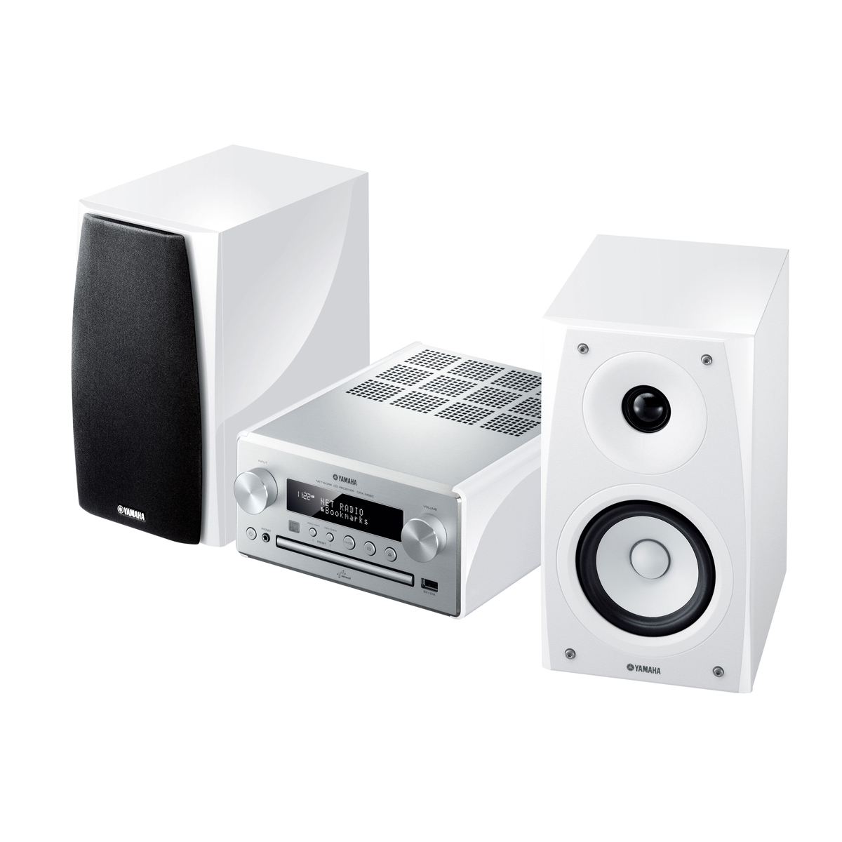 yamaha mcr n560 argent blanc cha ne hifi yamaha sur. Black Bedroom Furniture Sets. Home Design Ideas