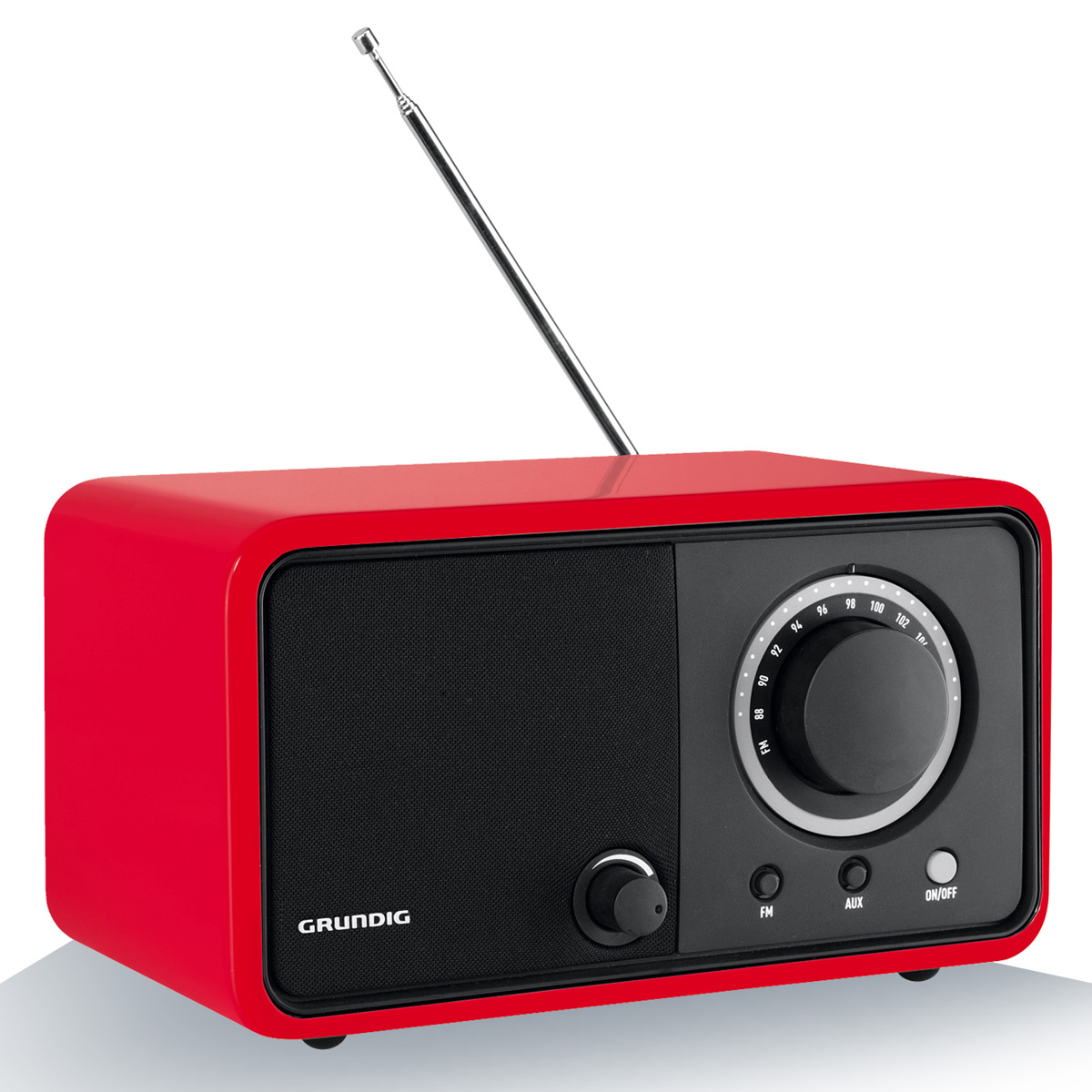 grundig tr 1200 rouge radio radio r veil grundig sur. Black Bedroom Furniture Sets. Home Design Ideas