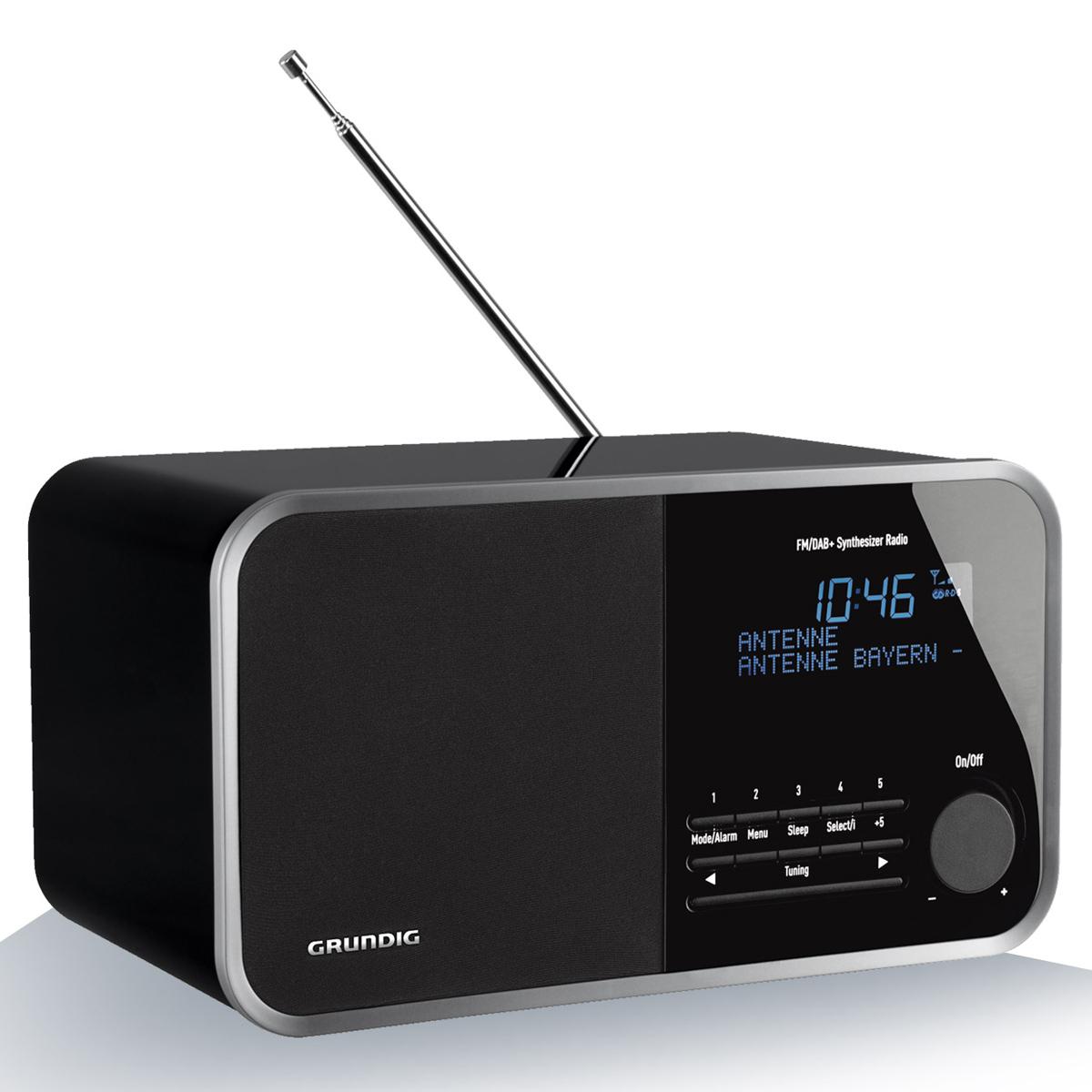 grundig tr 2200 dab noir radio radio r veil grundig. Black Bedroom Furniture Sets. Home Design Ideas