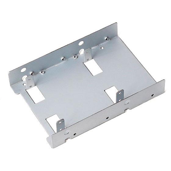 Accessoires divers boîtier SilverStone SDP08-LITE Rack pour disque dur 2.5 pouces dans baie 3.5 pouces
