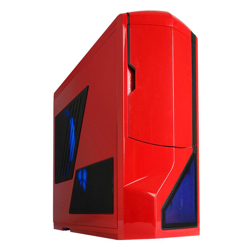 Boîtier PC NZXT Phantom (rouge) - Edition USB 3.0 Boîtier Grand Tour pour gamer