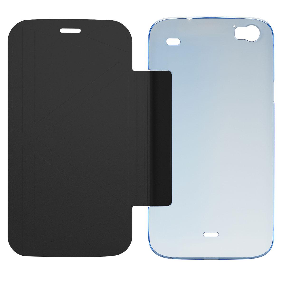 wiko folio coque support darkside bleu etui t l phone wiko sur. Black Bedroom Furniture Sets. Home Design Ideas