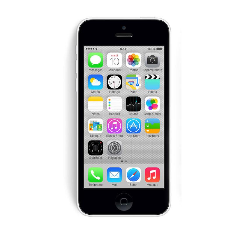 apple iphone 5c 32 go blanc mobile smartphone apple. Black Bedroom Furniture Sets. Home Design Ideas