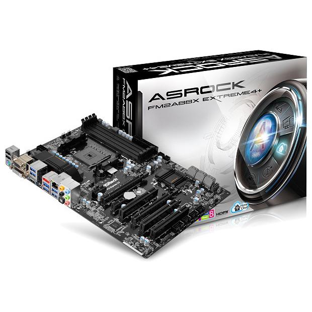 Carte mère ASRock FM2A88X Extreme4+ Carte mère ATX Socket FM2+ AMD A88X - SATA 6 Gbps - USB 3.0 - 1x PCI-Express 3.0 16x