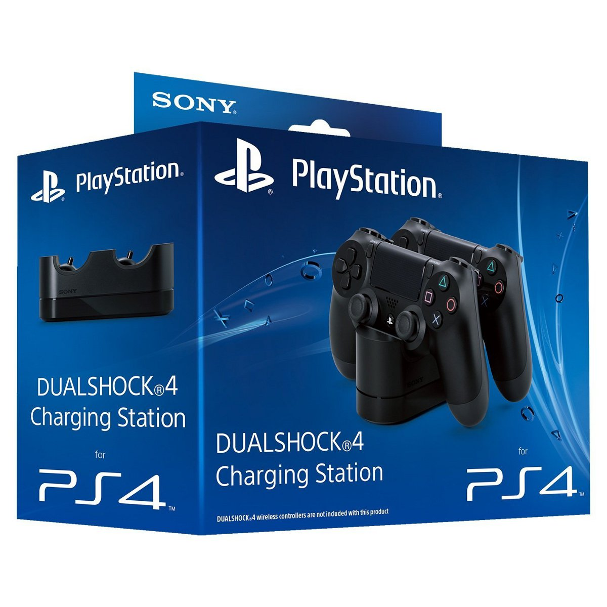 sony playstation dualshock 4 charging station accessoires ps4 sony interactive entertainment. Black Bedroom Furniture Sets. Home Design Ideas