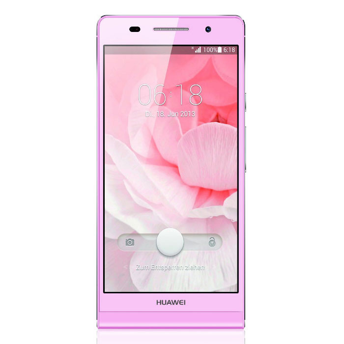 huawei ascend p6 rose mobile smartphone huawei sur ldlc. Black Bedroom Furniture Sets. Home Design Ideas