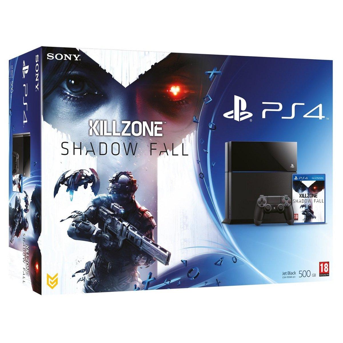 Console PS4 Sony PlayStation 4 + Killzone: Shadow Fall Console de jeux-vidéo nouvelle génération avec disque dur 500 Go + jeu
