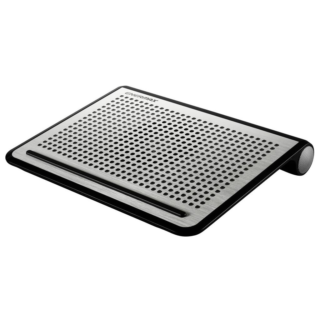 Ventilateur PC portable Enermax TwisterOdio16 Système de refroidissement avec haut-parleurs stéréo pour ordinateur portable (jusqu'à 16 pouces)