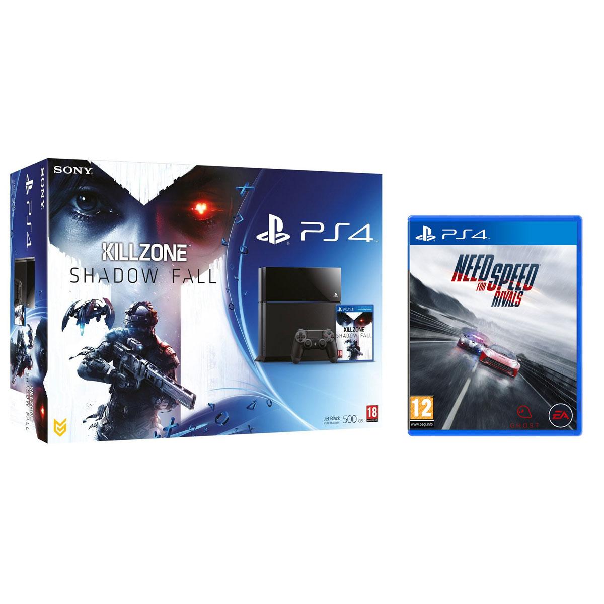 sony playstation 4 killzone shadow fall need for speed rivals console ps4 sony interactive. Black Bedroom Furniture Sets. Home Design Ideas