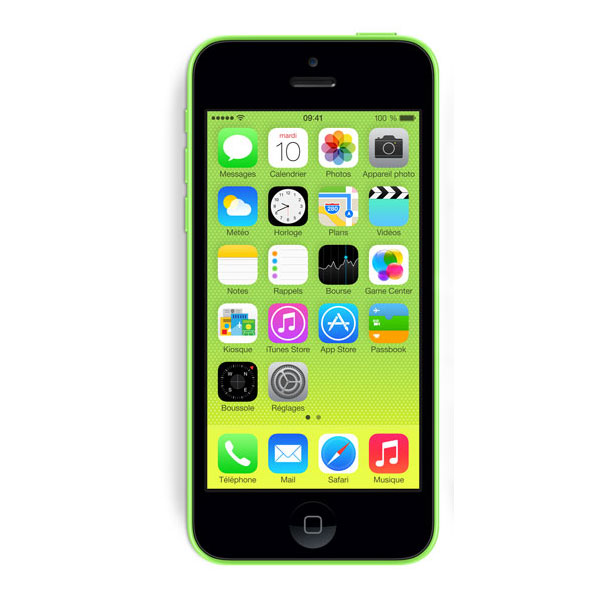 apple iphone 5c 16 go vert mobile smartphone apple sur. Black Bedroom Furniture Sets. Home Design Ideas