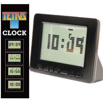 Jeux et Accessoires Abystyle TETRIS Animated Alarm Clock Réveil rétro Tetris