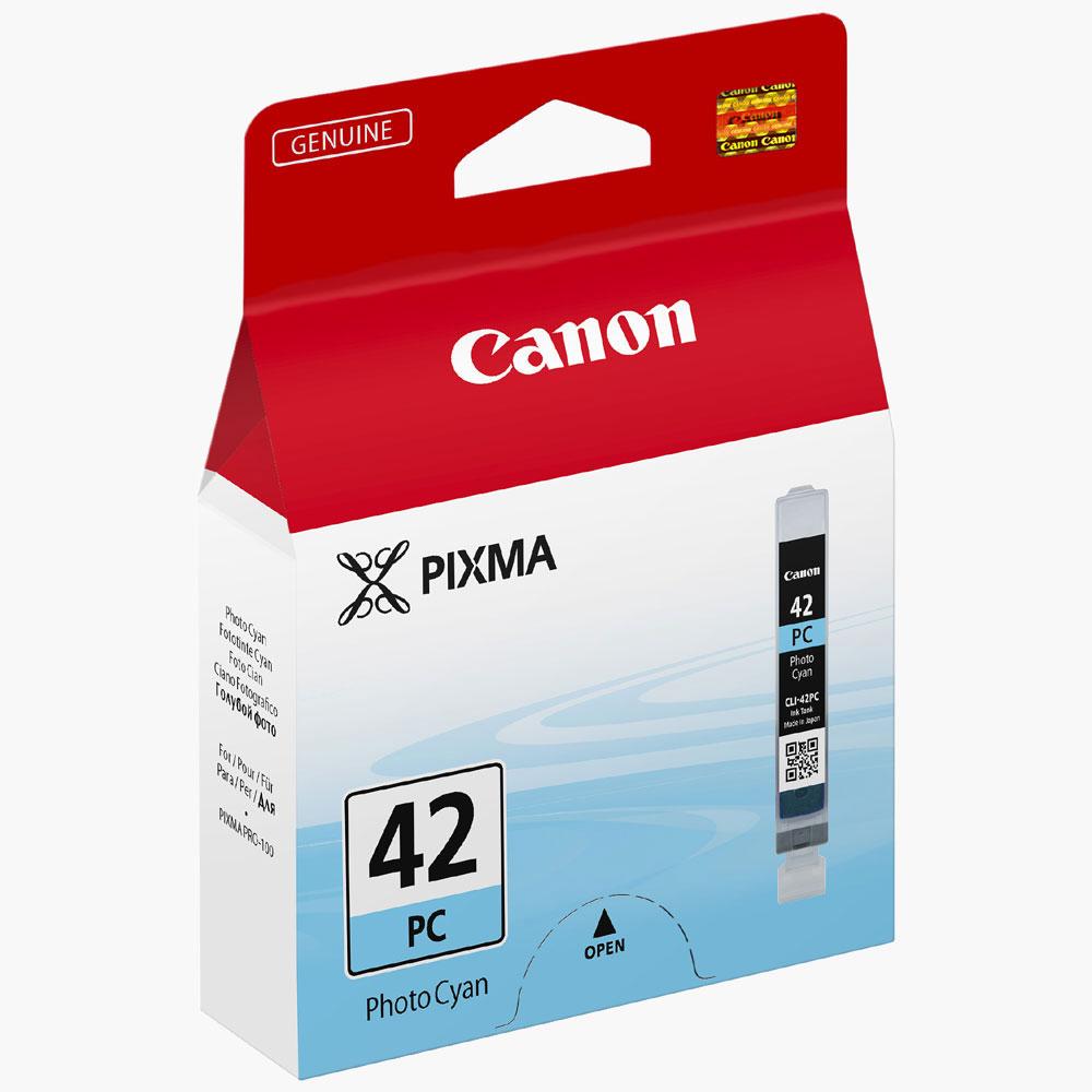 Cartouche imprimante Canon CLI-42PC Cartouche d'encre cyan clair