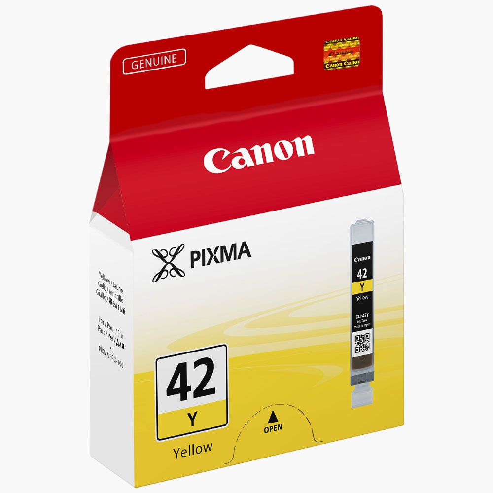Cartouche imprimante Canon CLI-42Y Cartouche d'encre jaune