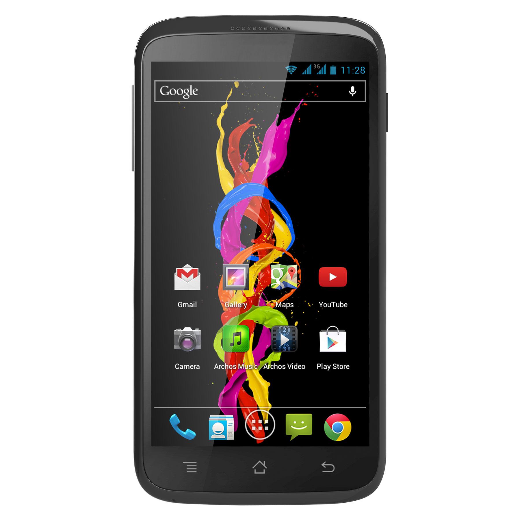 """Mobile & smartphone Archos 40 Titanium Smartphone 3G+ Dual Sim avec écran tactile 4"""" sous Android 4.2"""