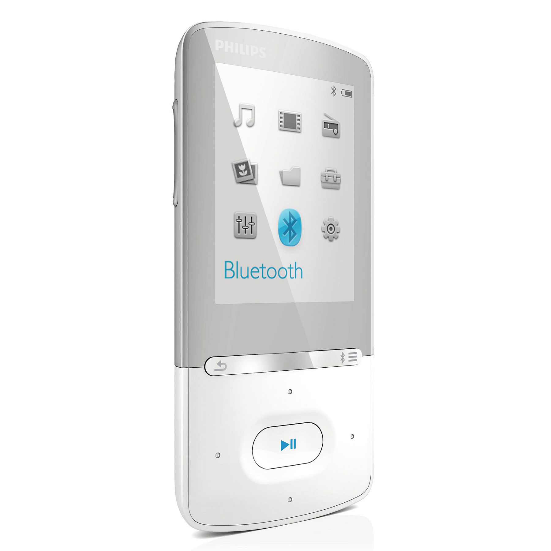 philips azure 4 go blanc lecteur mp3 ipod philips sur. Black Bedroom Furniture Sets. Home Design Ideas