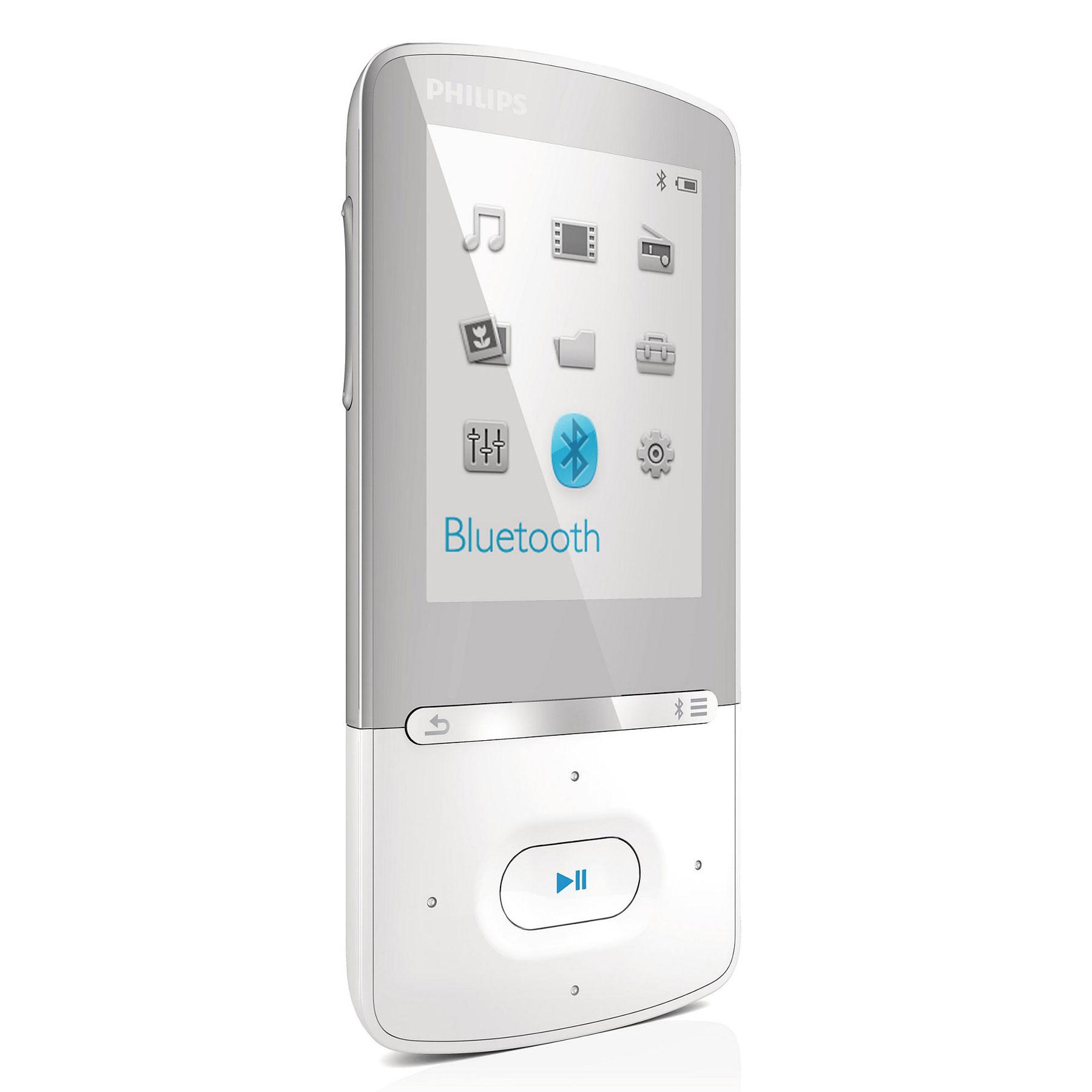 philips azure 4 go blanc lecteur mp3 ipod philips sur. Black Bedroom Furniture Sets. Home Design Ideas