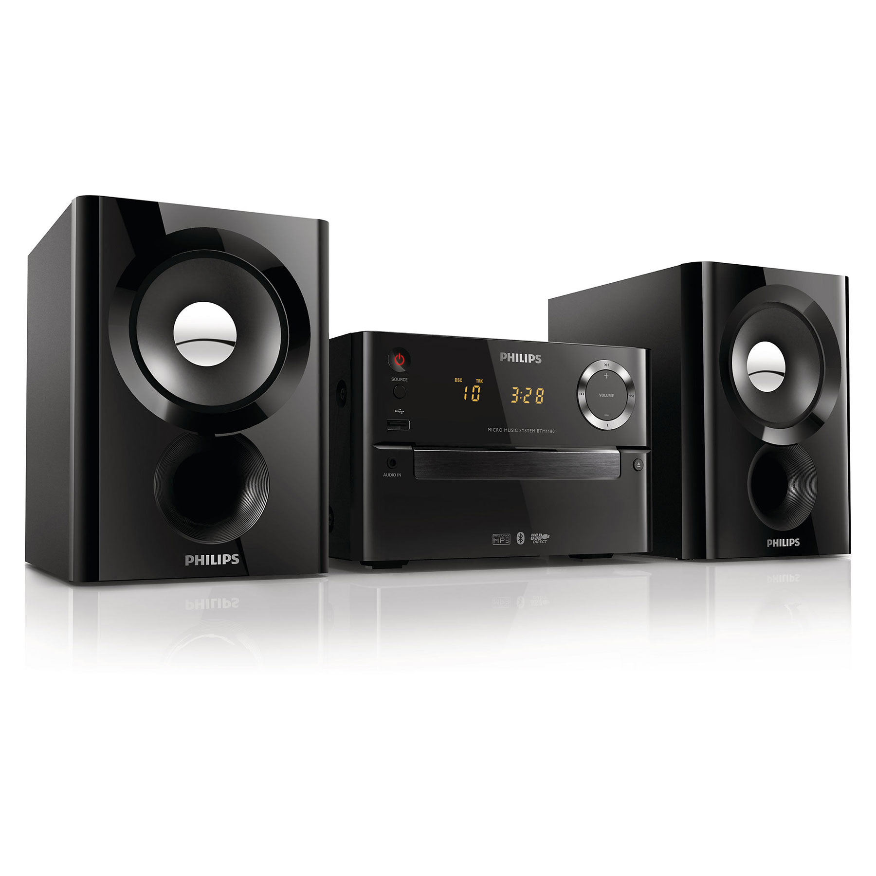 philips btm1180 cha ne hifi philips sur. Black Bedroom Furniture Sets. Home Design Ideas