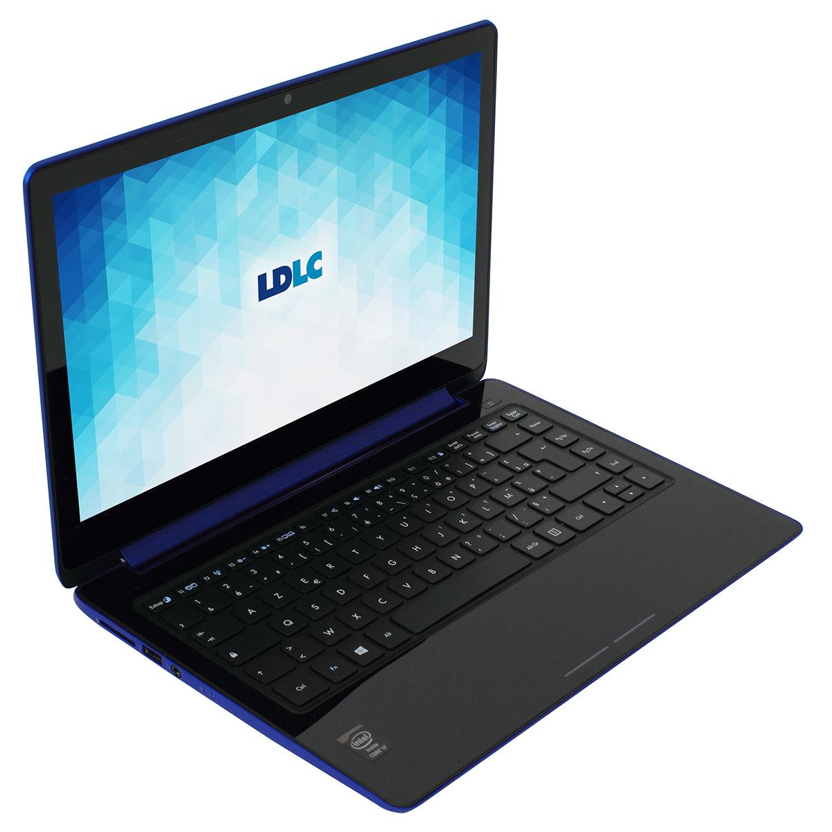 "PC portable LDLC Iris FB2-I7-8-S2 UltraSlim Intel Core i7-4500U 8 Go SSD 256 Go 13.3"" LED QHD Tactile Wi-Fi N/Bluetooth 4.0 Webcam (sans OS)"
