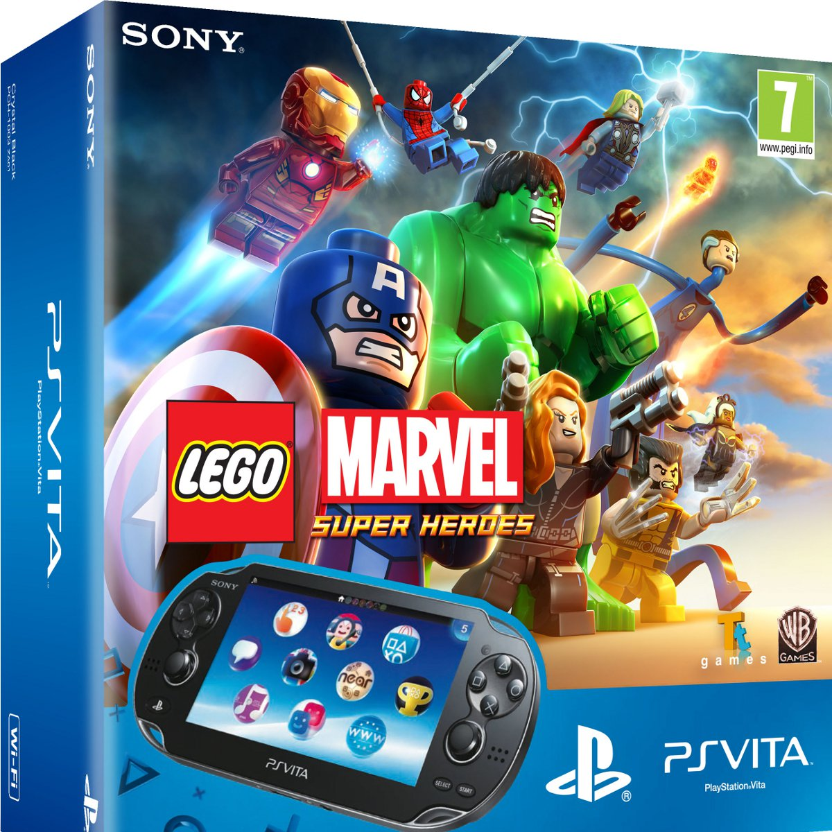 sony ps vita wifi noire lego marvel super heroes carte memoire 8 go sony. Black Bedroom Furniture Sets. Home Design Ideas