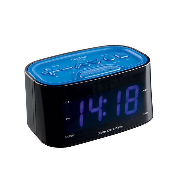 clipsonic ar307b bleu radio radio r veil clipsonic sur. Black Bedroom Furniture Sets. Home Design Ideas