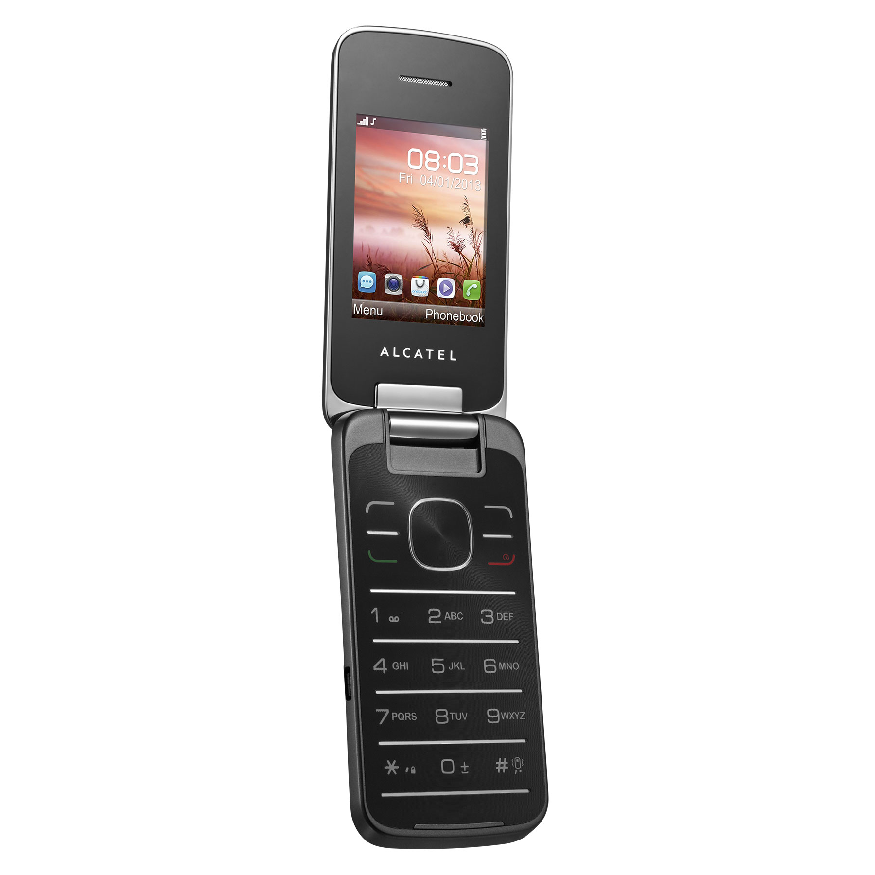 alcatel 2010d iron grey mobile smartphone alcatel sur. Black Bedroom Furniture Sets. Home Design Ideas