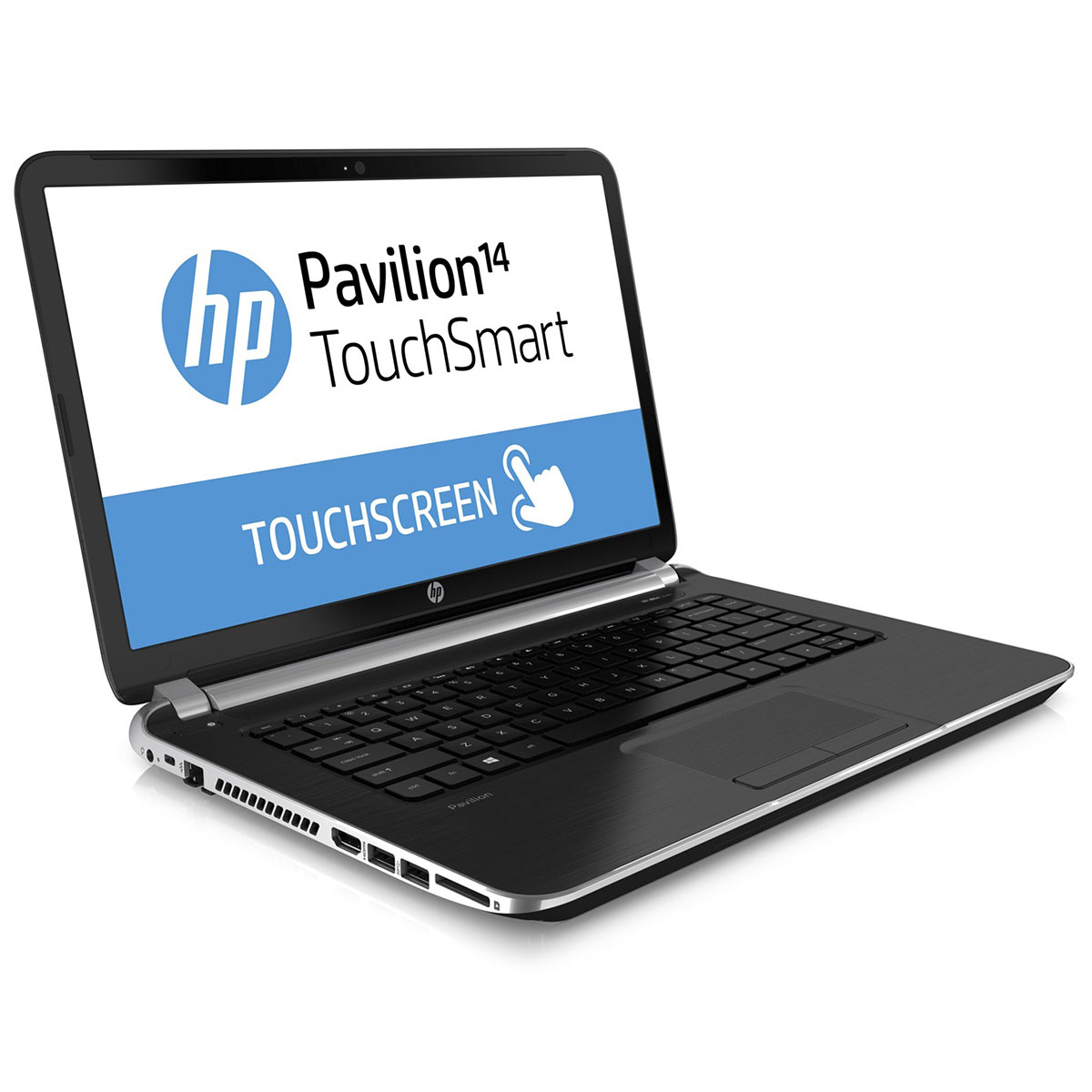 hp pavilion touchsmart 14 n053ef pc portable hp sur. Black Bedroom Furniture Sets. Home Design Ideas