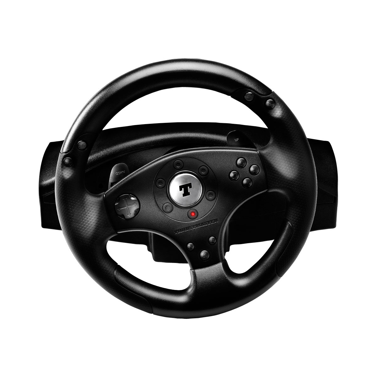 thrustmaster t100 force feedback racing wheel volant pc thrustmaster sur. Black Bedroom Furniture Sets. Home Design Ideas