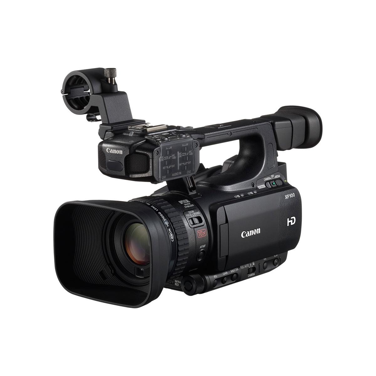 canon xf100 cam scope num rique canon sur. Black Bedroom Furniture Sets. Home Design Ideas