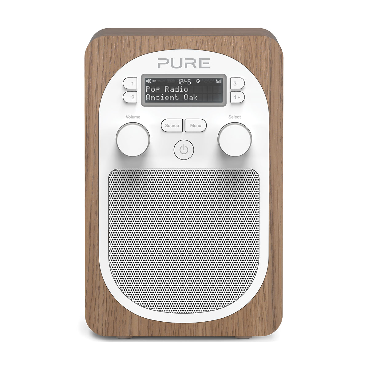 Pure evoke d2 oak radio radio r veil pure sur ldlc for Radio numerique portable