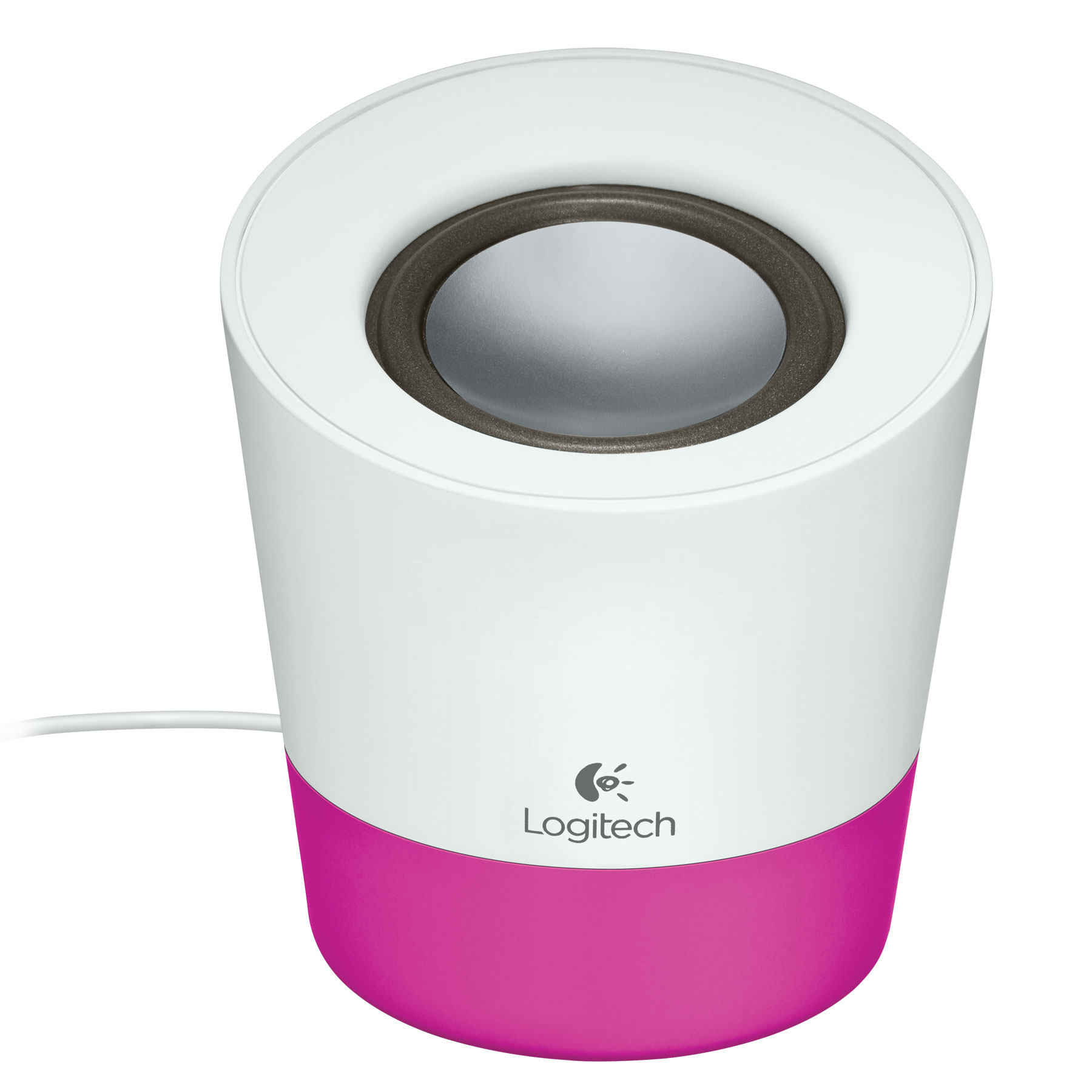 logitech multimedia speaker z50 magenta enceinte pc logitech sur. Black Bedroom Furniture Sets. Home Design Ideas