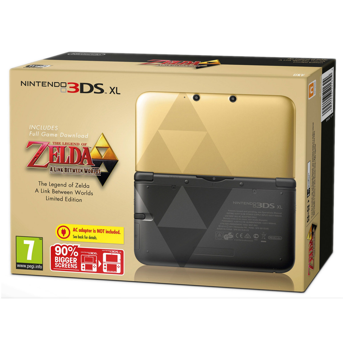 nintendo 3ds xl zelda zelda a link between worlds