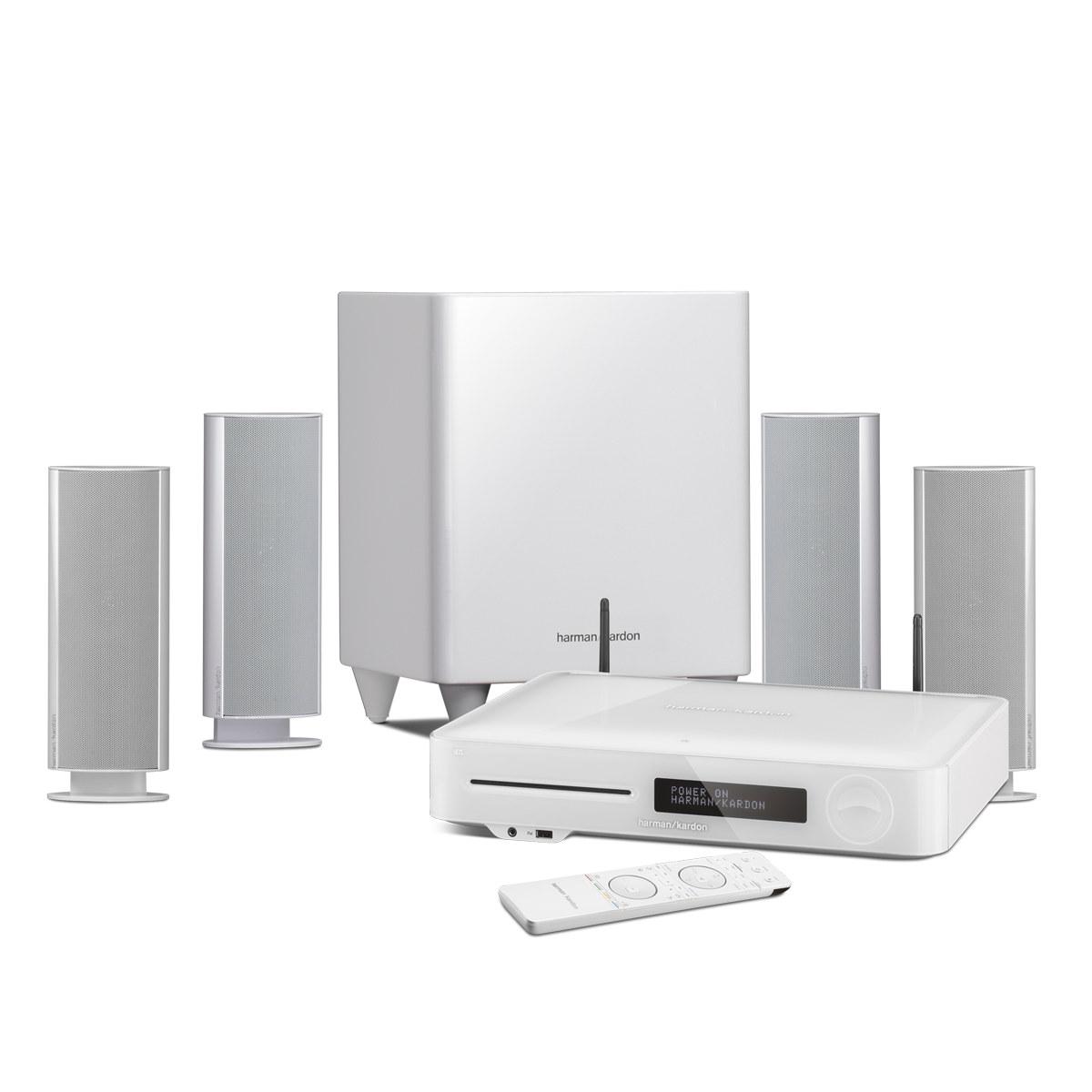 harman kardon bds 780 blanc ensemble home cin ma harman kardon sur. Black Bedroom Furniture Sets. Home Design Ideas