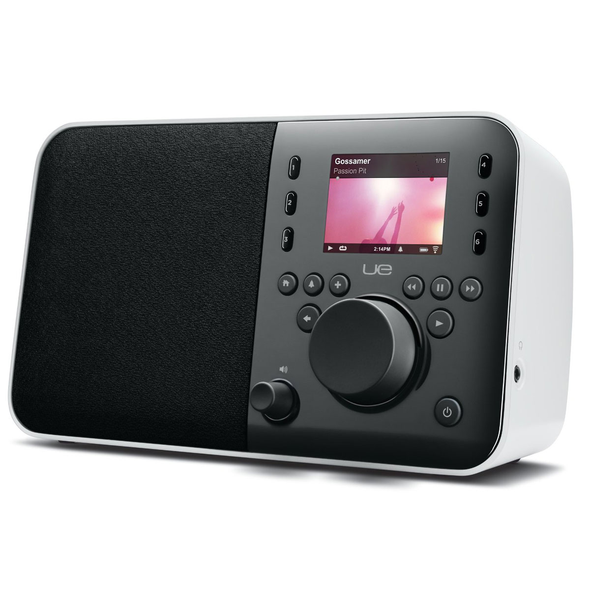 logitech ue smart radio blanc radio radio r veil logitech sur. Black Bedroom Furniture Sets. Home Design Ideas