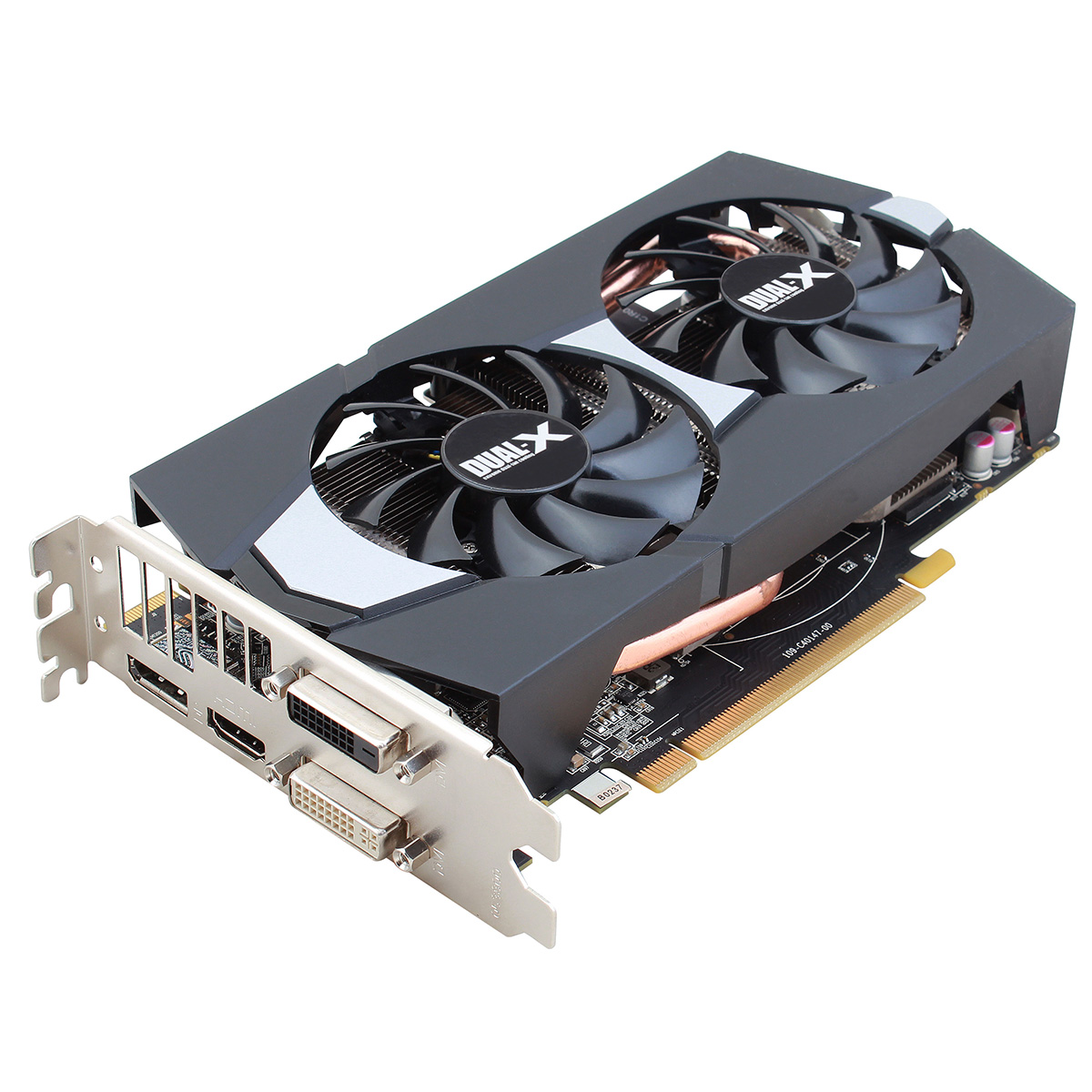 Carte graphique Sapphire Radeon R9 270 Dual-X 2G GDDR5 OC 2 Go Dual DVI/HDMI/DisplayPort - PCI Express (AMD Radeon R9 270)