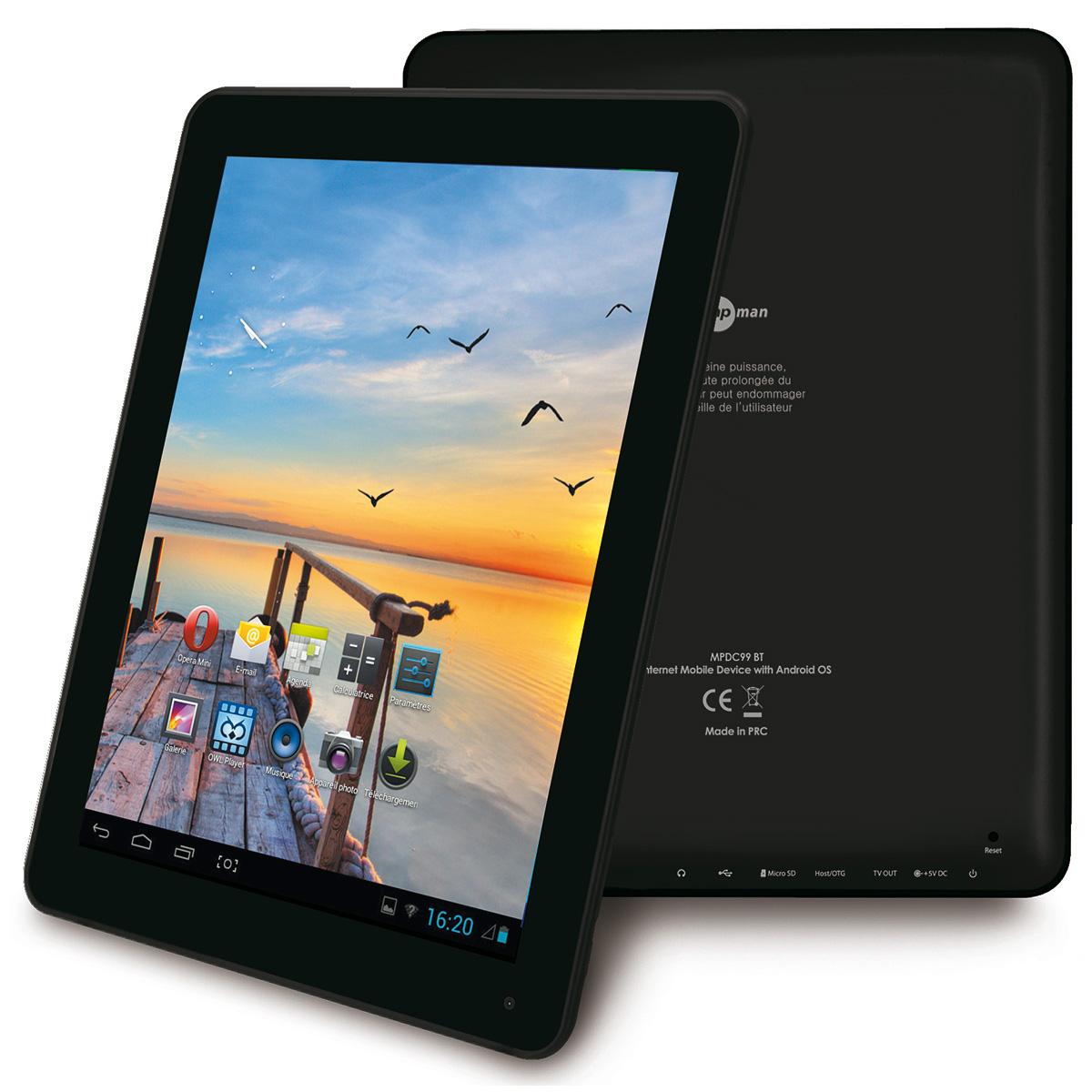 MPMAN MPDC97 BT 4 Go - Tablette tactile Mp Man sur LDLC.com