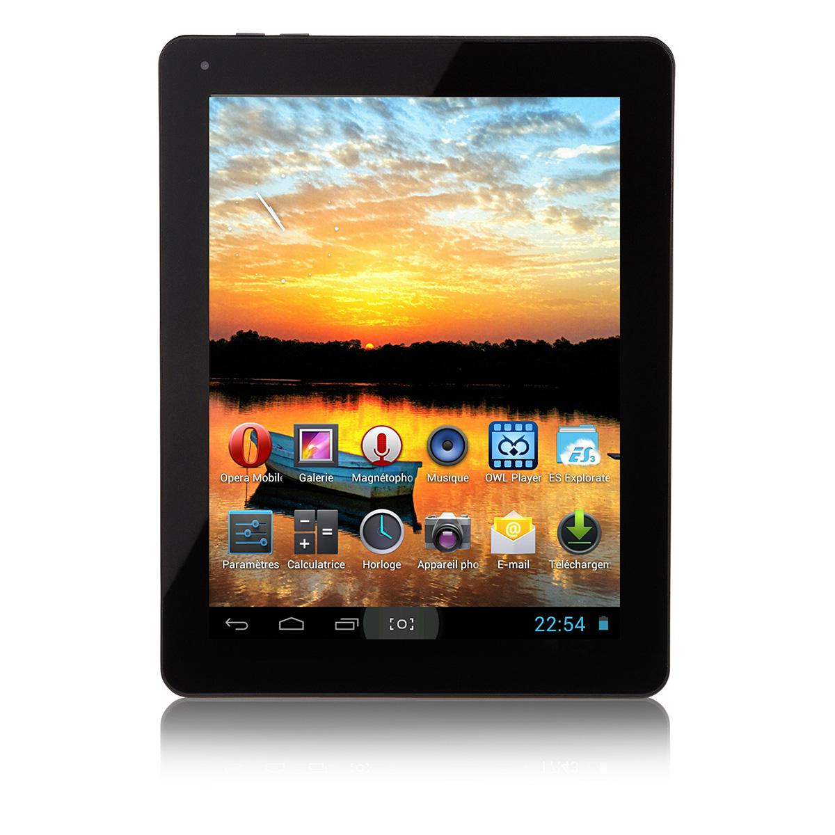 Mpman Mpqc974 8 Go Alu Tablette Tactile Mp Man Sur Ldlc Com