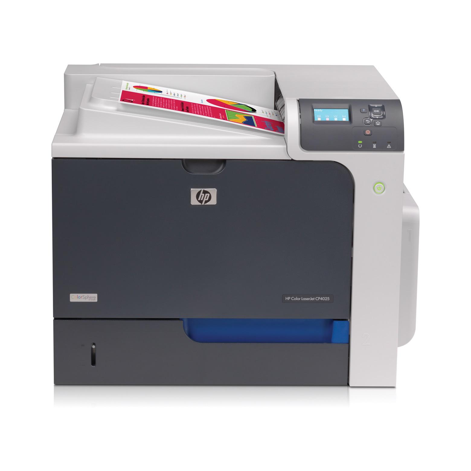 hp color laserjet enterprise cp4025dn imprimante laser. Black Bedroom Furniture Sets. Home Design Ideas