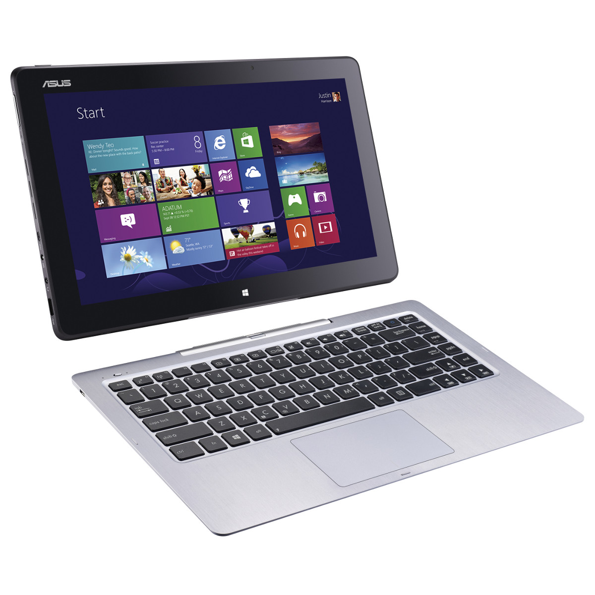 asus transformer book t300la c4001h dock mobile pc portable asus sur. Black Bedroom Furniture Sets. Home Design Ideas