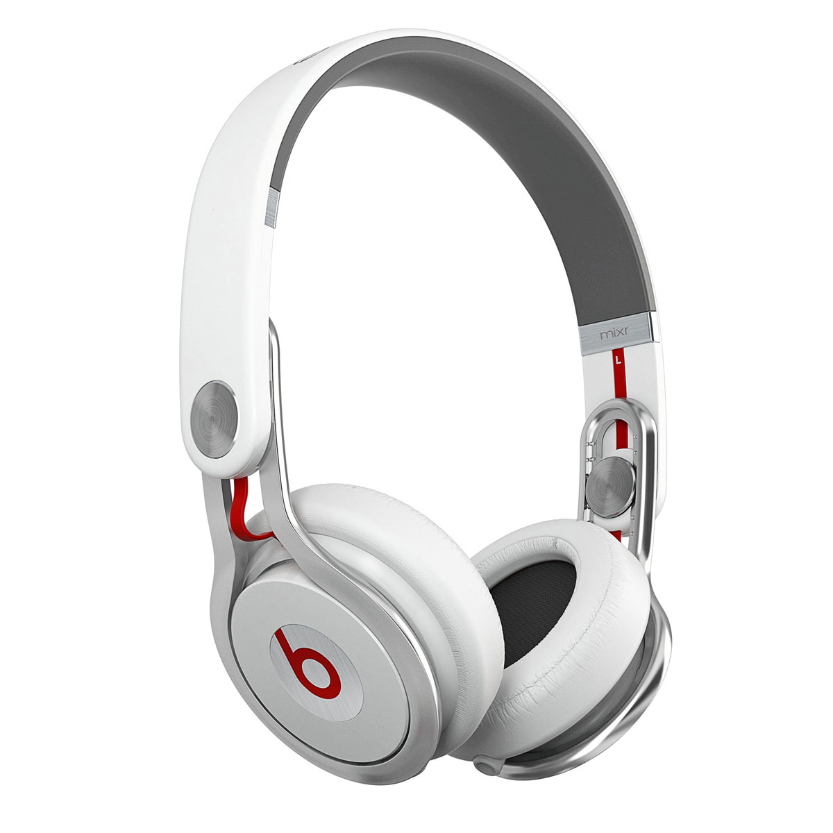 beats mixr blanc casque beats by dr dre sur. Black Bedroom Furniture Sets. Home Design Ideas