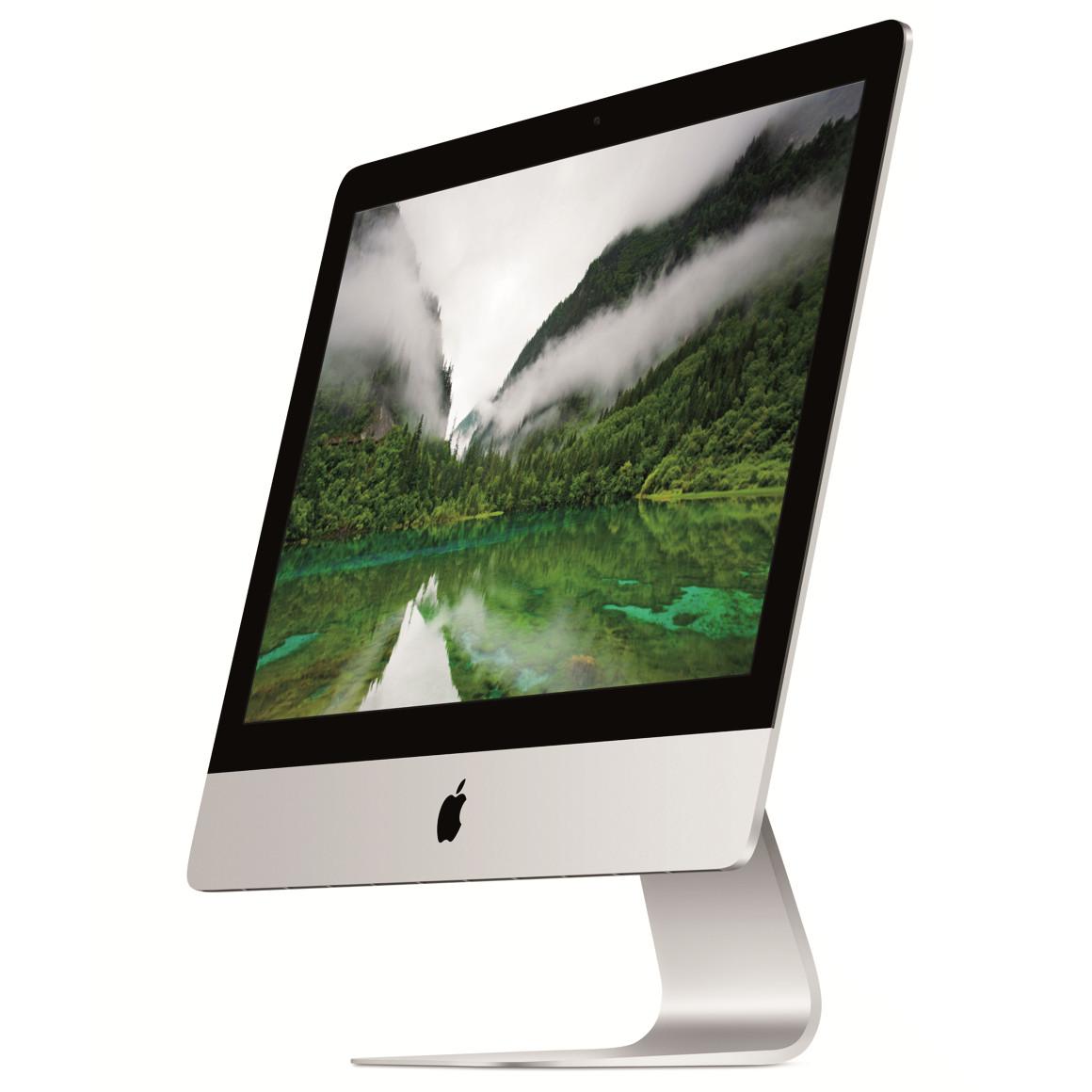 apple imac 21 5 pouces me087f a ordinateur mac apple. Black Bedroom Furniture Sets. Home Design Ideas