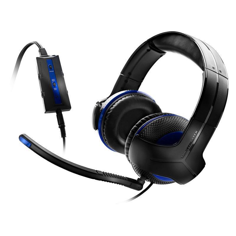 Accessoires PS4 Thrustmaster Y-250P Casque-micro pour gamer (PS3 et PS4)