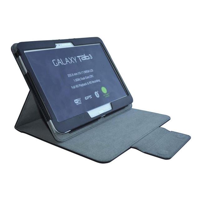 heden housse iron noire pour samsung galaxy tab 3 et tab 4 10 1 etui tablette heden sur. Black Bedroom Furniture Sets. Home Design Ideas