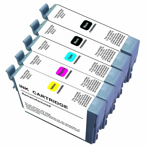 Cartouche imprimante LDLC pack économique compatible Epson T071 (2 BK + C + M + Y) Lot de 5 cartouches compatibles (2 noires + 1 cyan + 1 magenta + 1 jaune)