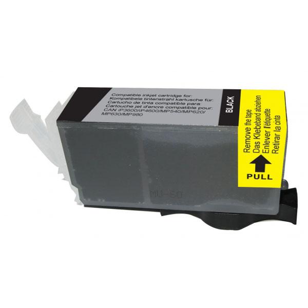 Cartouche imprimante Cartouche compatible PGI-520BK (Noir) Cartouche d'encre noire compatible Canon PGI-520BK
