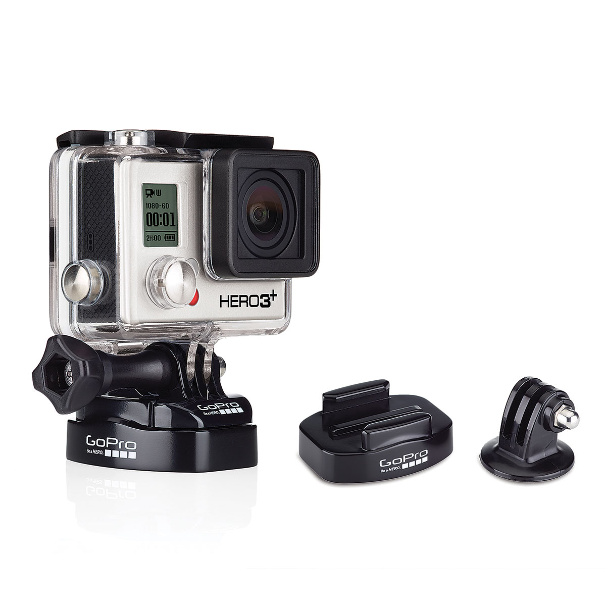 gopro fixation pour tr pied accessoires cam ra sportive gopro sur. Black Bedroom Furniture Sets. Home Design Ideas