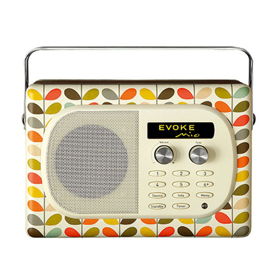 pure evoke mio orla kiely radio radio r veil pure sur. Black Bedroom Furniture Sets. Home Design Ideas